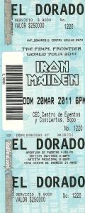boleta+concierto+iron+maiden+the+final+frontier+2011+bogota,+d.c.+bogota,+d.c.+colombia_2011