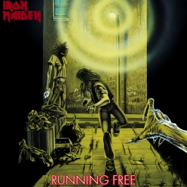 Running Free - Iron Maiden Single