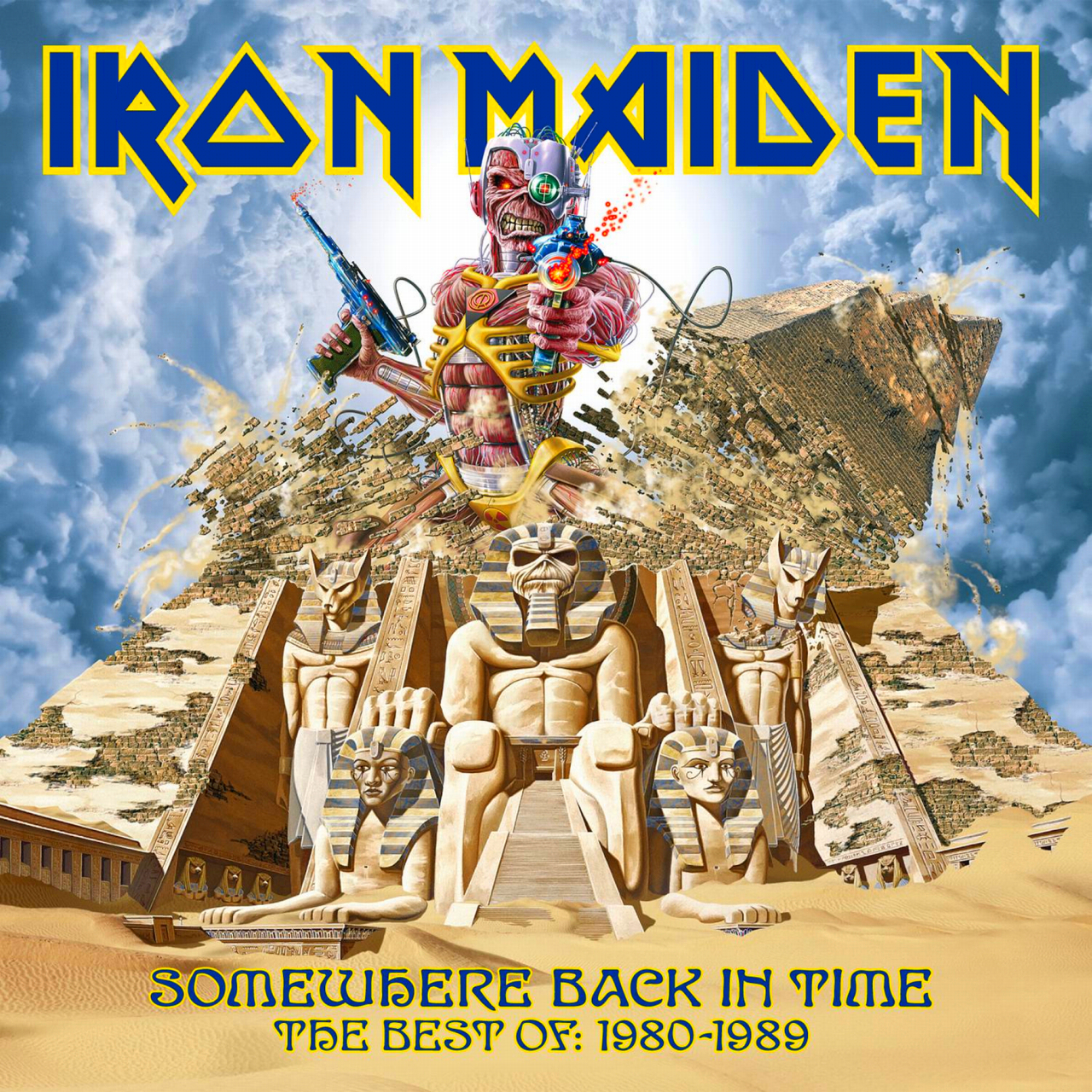 Somewhere Back In Time Iron Maiden Blood Brothers Colombia