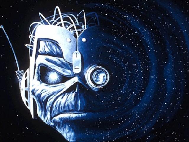 Iron Maiden Somewhere In Time Space Iron Maiden Blood