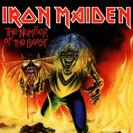 The Number of the Beast - Iron Maiden Single