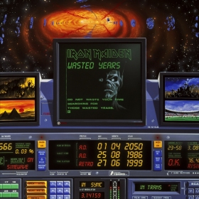 Wasted Years - Iron Maiden Single