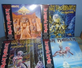 Iron Maiden LP Picture Disc @ Colombia, 2013