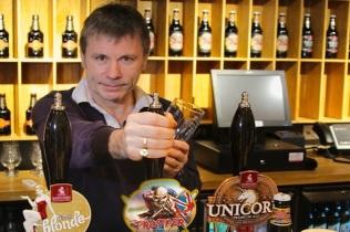 Bruce Dickinson Cervecería