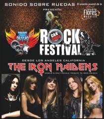 The Iron Maiden en Medellín 2013