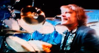 Bruce, solo de batería @ Argentina 2013