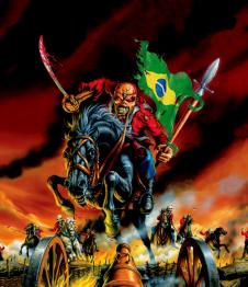 Iron Maiden Maiden England Brasil 2013.