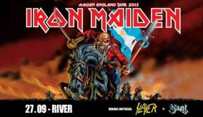 Iron Maiden. Maiden England Argentina 2013
