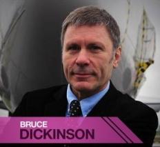 Bruce Dickinson estará en Campus Party 2013