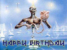 Iron Maiden Cumpleaños