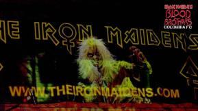 The Iron Maidens. Bogotá 2013