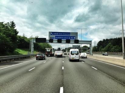 Camino hacia Donington 2013