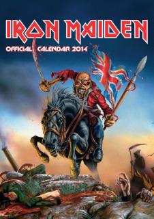 Iron Maiden, Calendario 2014