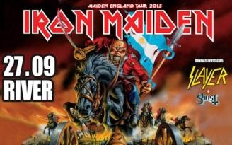 Iron Maiden Argentina Maiden England 2013 Poster