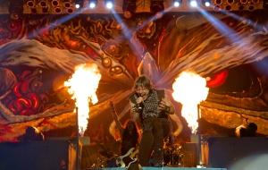 Iron Maiden, Santiago 2013