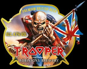 Iron Maiden. Cerveza Trooper