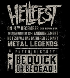 Hellfest 2014. Be Quick or Be Dead!