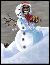 Iron Maiden Felices Fiestas