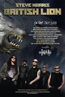 British Lion On Tour 2014