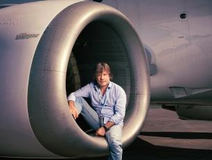 Bruce Dickinson. Avión.