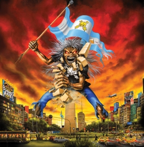 Iron Maiden Argentina Eddie The Final Frontier Obelisco Buenos Aires