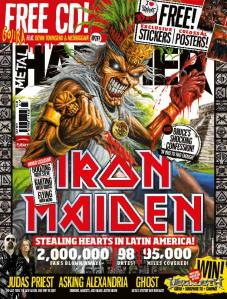 Iron Maiden Latinamerica Metal Hammer