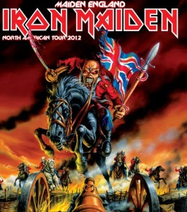 Maiden England 2012