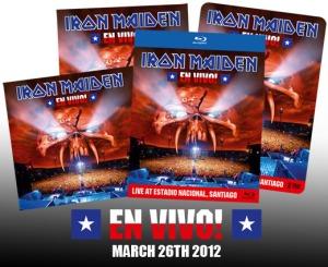Iron Maiden En Vivo Lanzamiento 2012