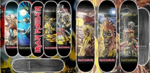 Tablas de Skate de Iron Maiden 2015