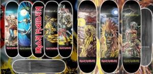 Tablas de Skate de Iron Maiden 2015