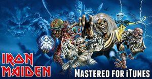 Masterizados de iTunes Iron Maiden 2015