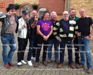 Reunión incluye exmiembros Iron Maiden inicios de 70's