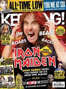 Steve en Kerrang!
