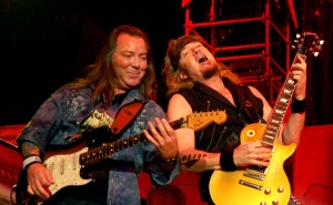 Dave Murray y Adrian Smith TFFWT