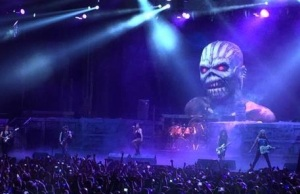 Iron Maiden Ft. Lauderdale Feb 24, 2016 TBOSTour