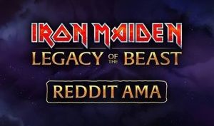 Iron Maiden Legacy of the Beast Reddit AMA