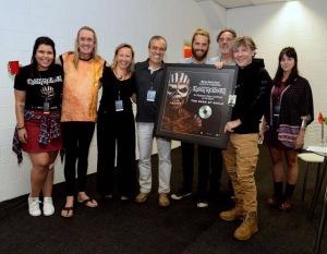 Iron Maiden disco Platino, Brasil. TBOS