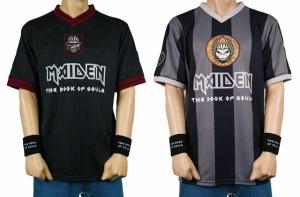 Iron Maiden camisetas de fútbol TBOS 2016