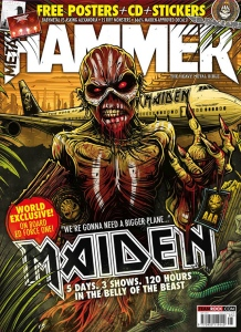 Metal Hammer 2016 - Portada