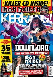 Maiden Kerrang Junio 2016