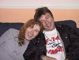 Bruce y Mustaine