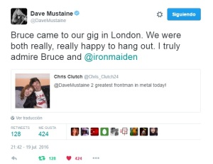 Tuit Dave Mustaine