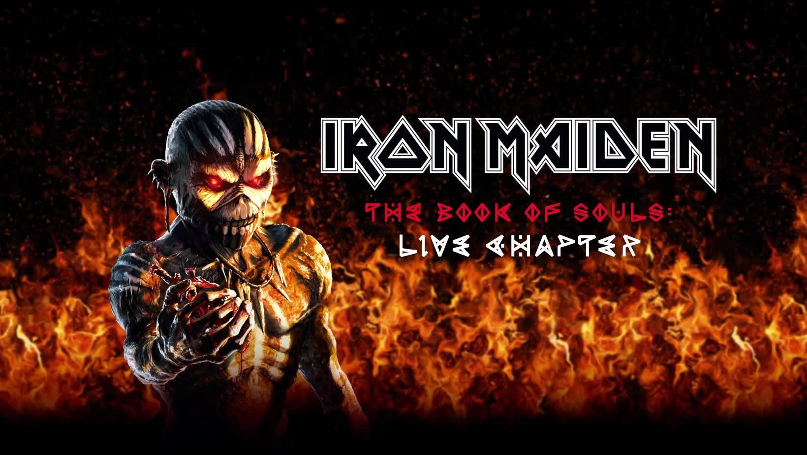 Iron Maiden Anuncia Su Nuevo Trabajo En Vivo The Book Of Souls